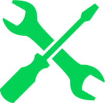 Schraubenzieher und Schlüssel